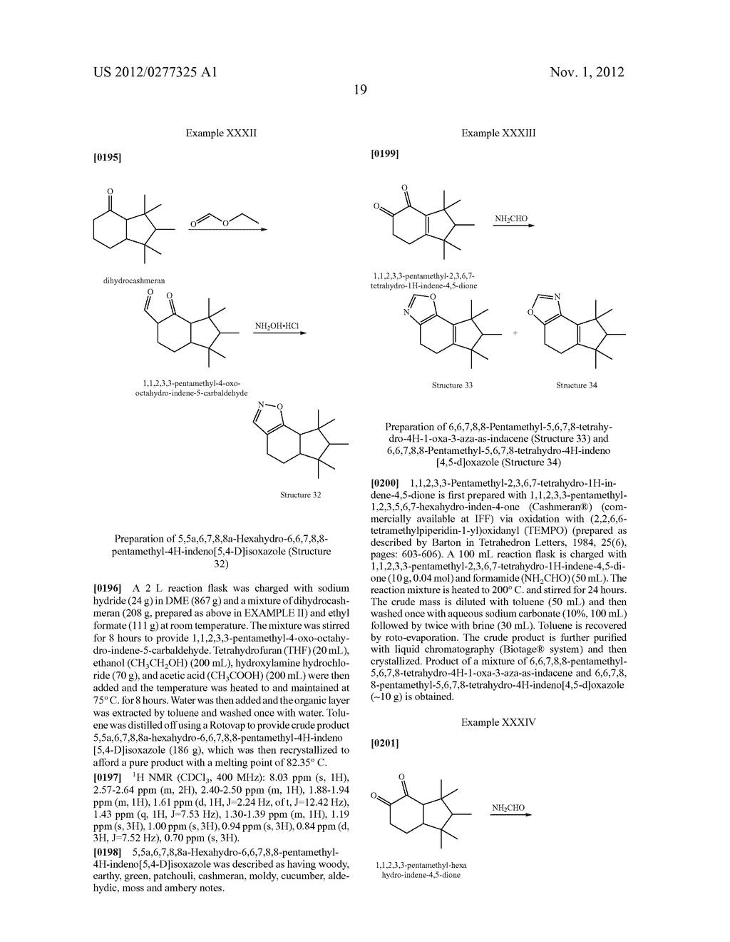NOVEL PYRIMIDINE DERIVATIVES AND THEIR USE IN PERFUME COMPOSITIONS - diagram, schematic, and image 20