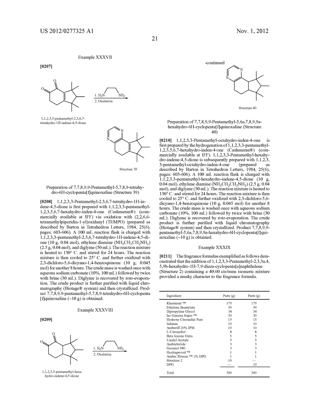 NOVEL PYRIMIDINE DERIVATIVES AND THEIR USE IN PERFUME COMPOSITIONS - diagram, schematic, and image 22