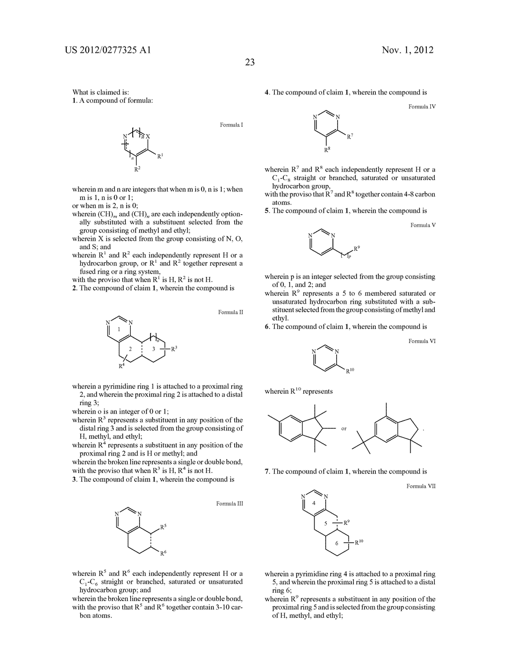 NOVEL PYRIMIDINE DERIVATIVES AND THEIR USE IN PERFUME COMPOSITIONS - diagram, schematic, and image 24