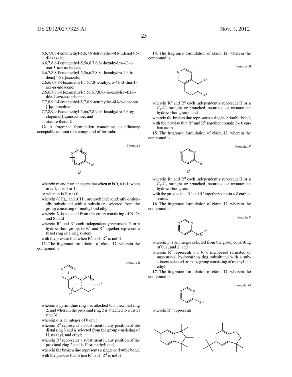 NOVEL PYRIMIDINE DERIVATIVES AND THEIR USE IN PERFUME COMPOSITIONS - diagram, schematic, and image 26