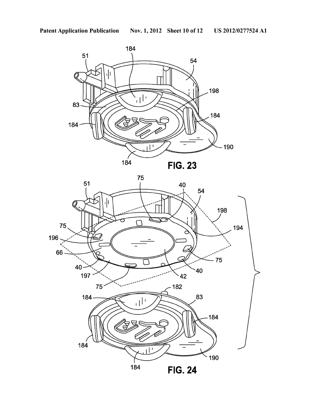 IMPLANTABLE ACCESS PORT DEVICE HAVING A SAFETY CAP - diagram, schematic, and image 11