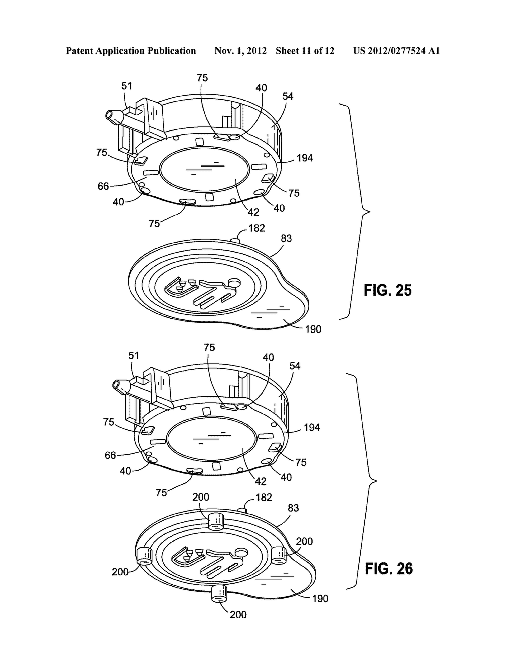 IMPLANTABLE ACCESS PORT DEVICE HAVING A SAFETY CAP - diagram, schematic, and image 12