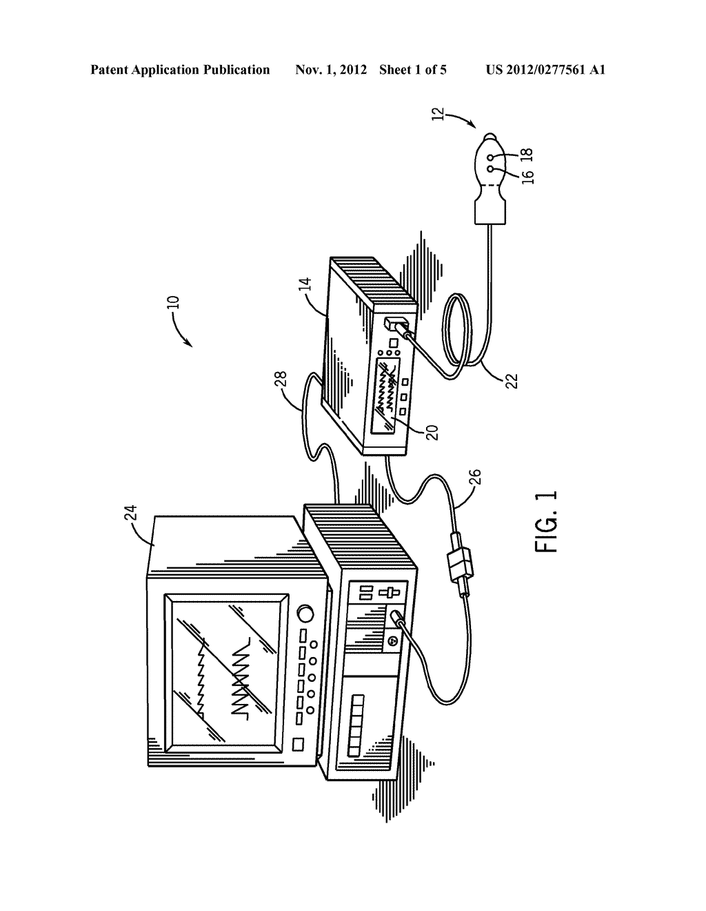 SYSTEM AND METHOD FOR DETECTION OF VENOUS PULSATION - diagram, schematic, and image 02
