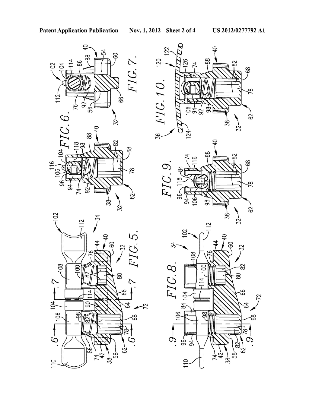 VASCULAR WOUND CLOSING APPARATUS AND METHOD - diagram, schematic, and image 03