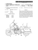 MOTORCYCLE ENGINE COOLING DEVICE AND SYSTEM diagram and image