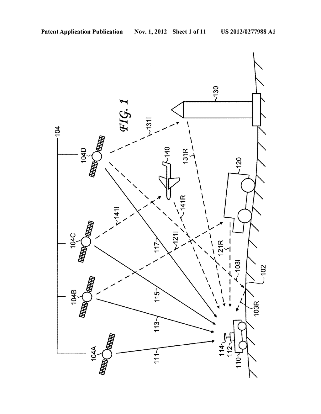 Object Detection and Position Determination by Reflected Global Navigation     Satellite System Signals - diagram, schematic, and image 02