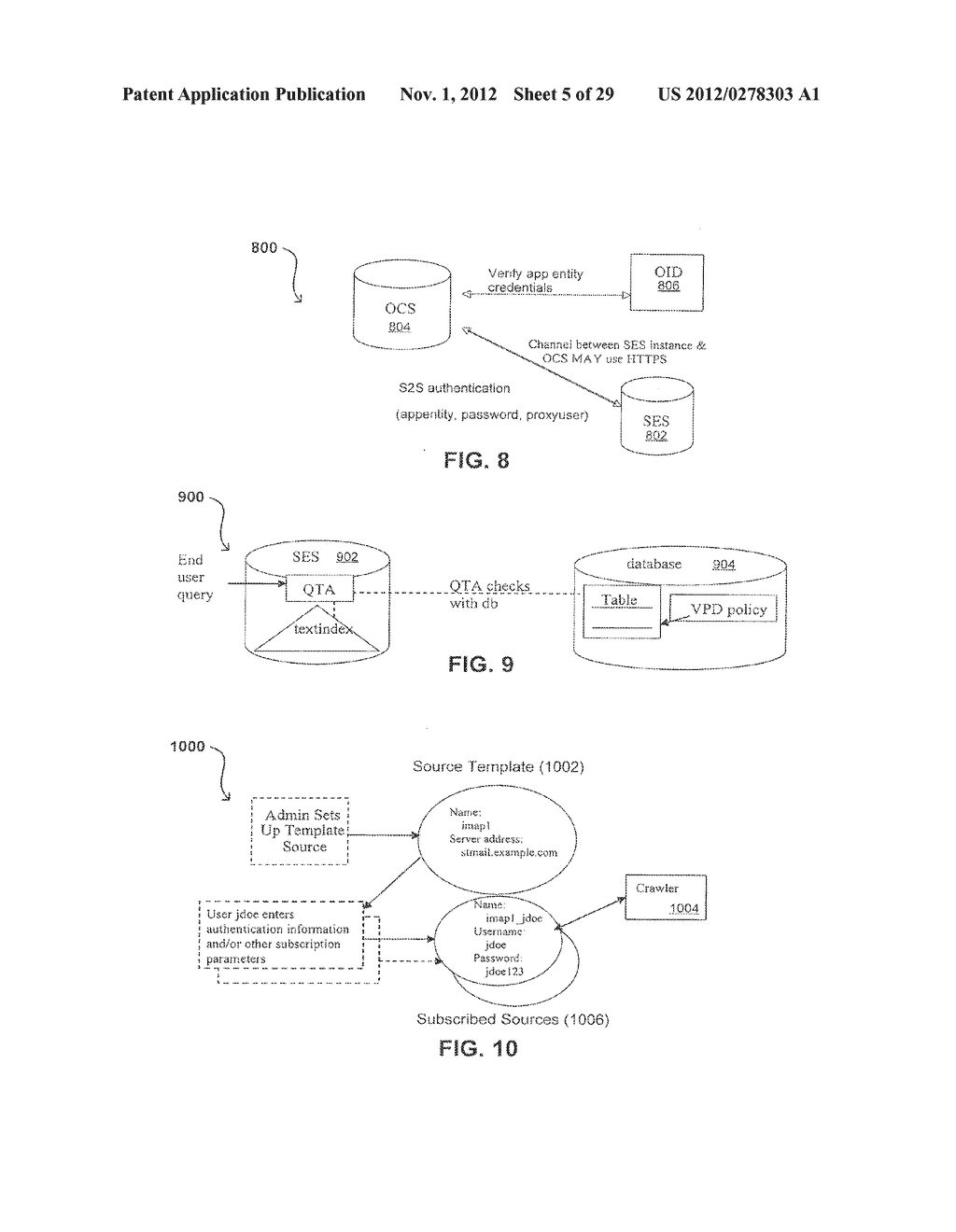 PROPAGATING USER IDENTITIES IN A SECURE FEDERATED SEARCH SYSTEM - diagram, schematic, and image 06