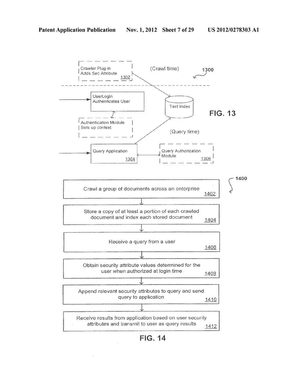 PROPAGATING USER IDENTITIES IN A SECURE FEDERATED SEARCH SYSTEM - diagram, schematic, and image 08