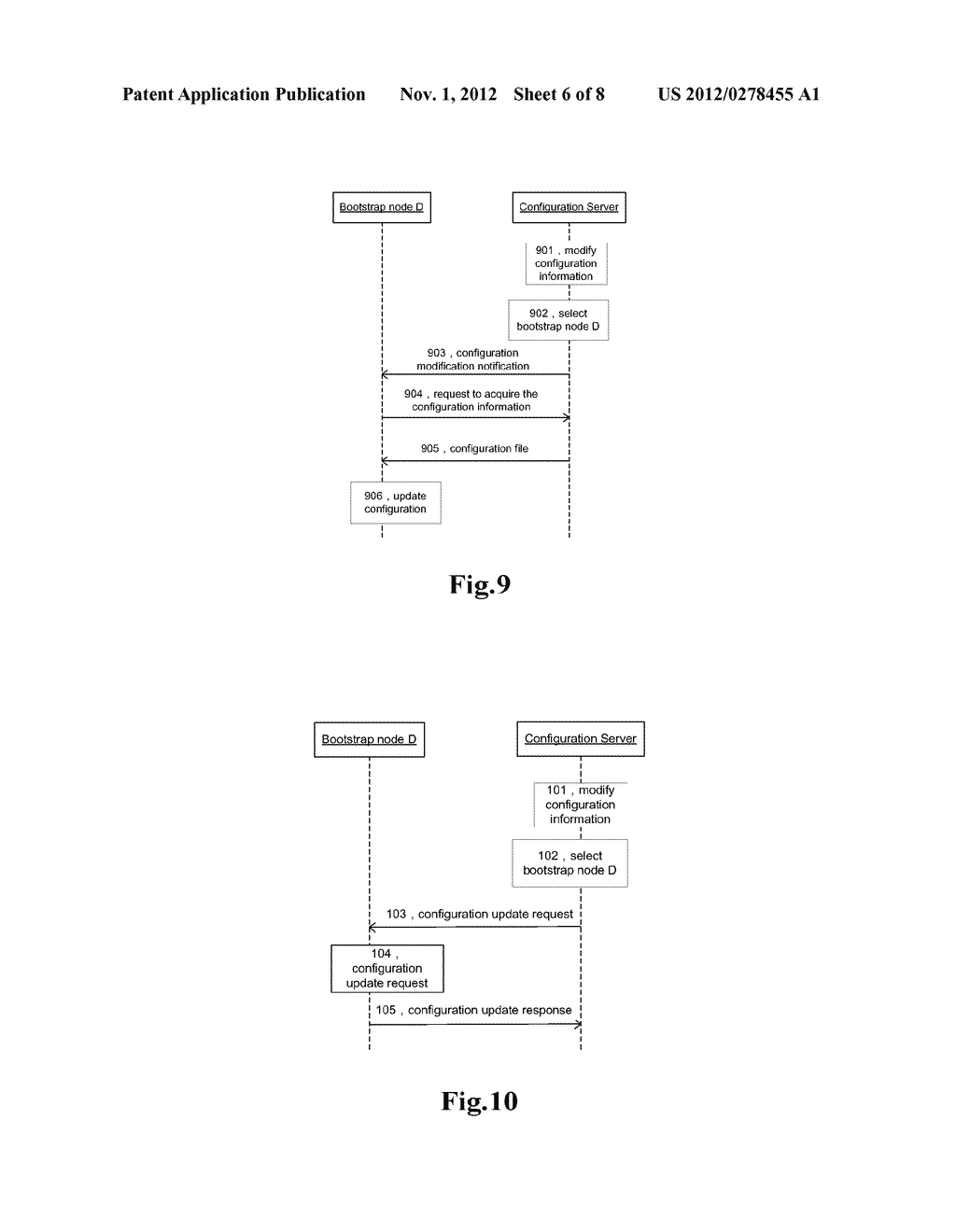 ISSUING METHOD AND SYSTEM FOR CONFIGURATION INFORMATION - diagram, schematic, and image 07
