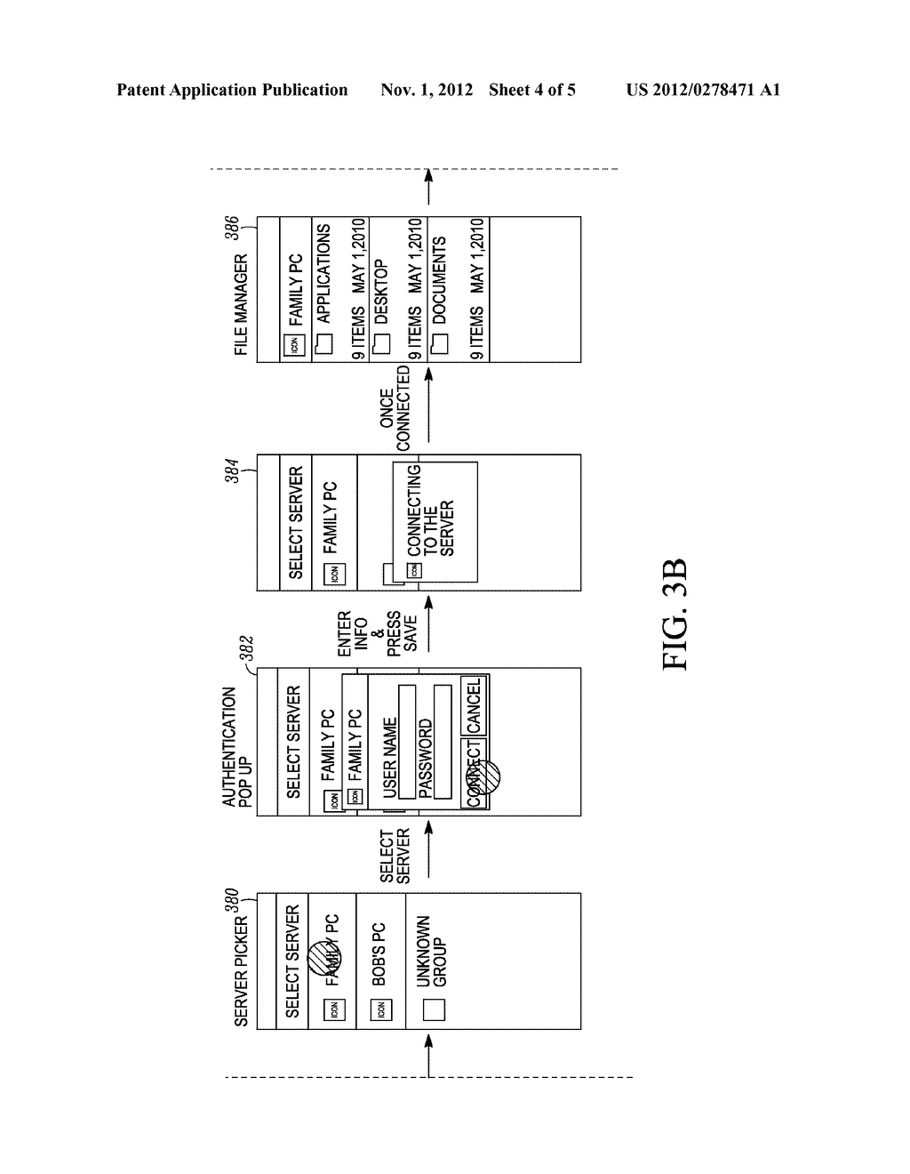 Devices and Methods for Two Step Searches for Servers by a Communication     Device - diagram, schematic, and image 05