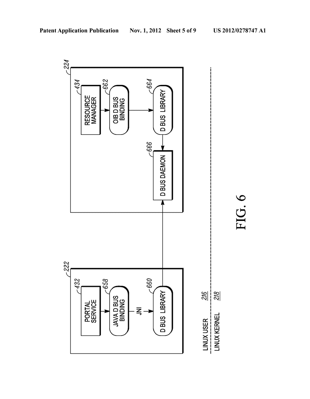 METHOD AND APPARATUS FOR USER INTERFACE IN A SYSTEM HAVING TWO OPERATING     SYSTEM ENVIRONMENTS - diagram, schematic, and image 06