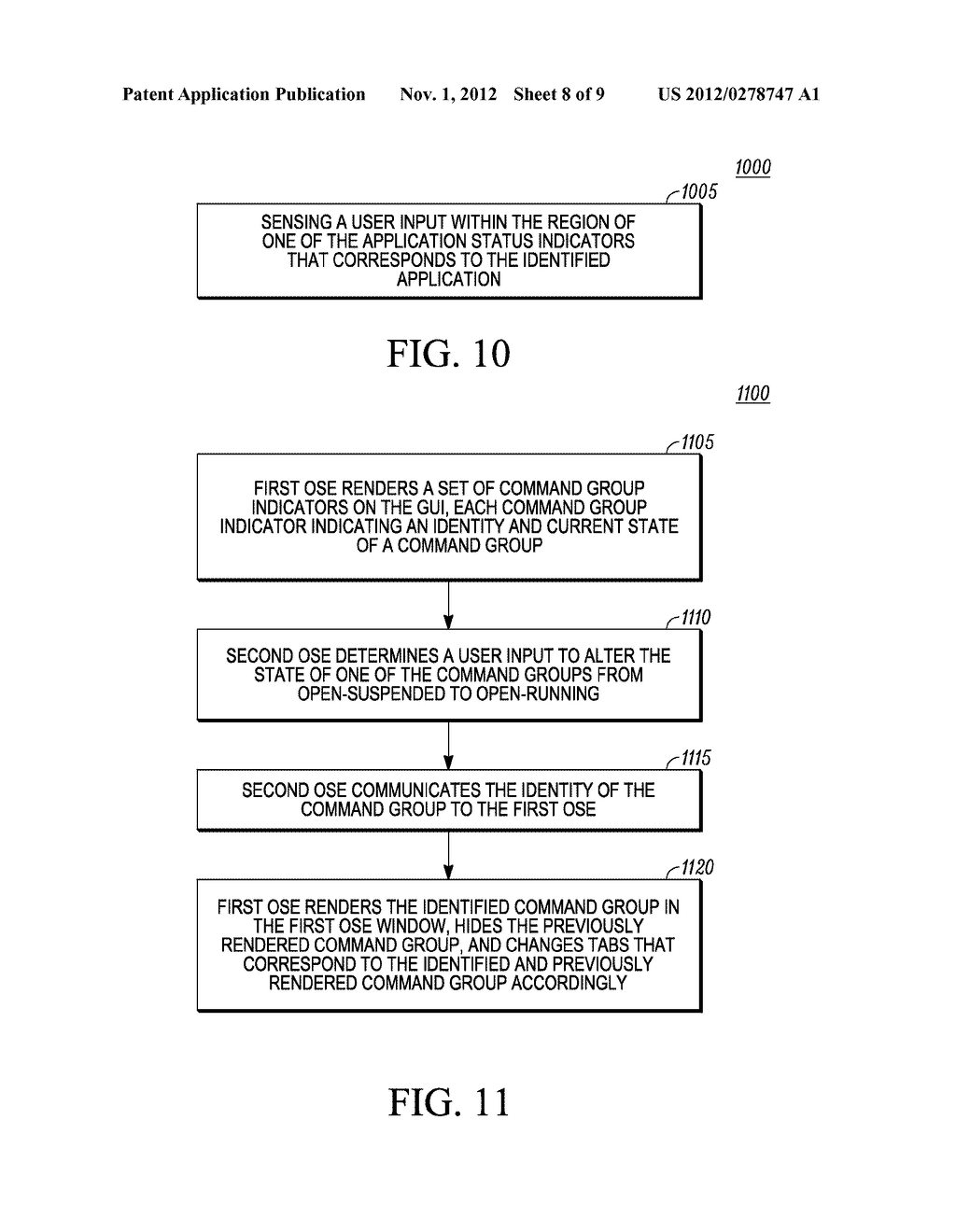 METHOD AND APPARATUS FOR USER INTERFACE IN A SYSTEM HAVING TWO OPERATING     SYSTEM ENVIRONMENTS - diagram, schematic, and image 09