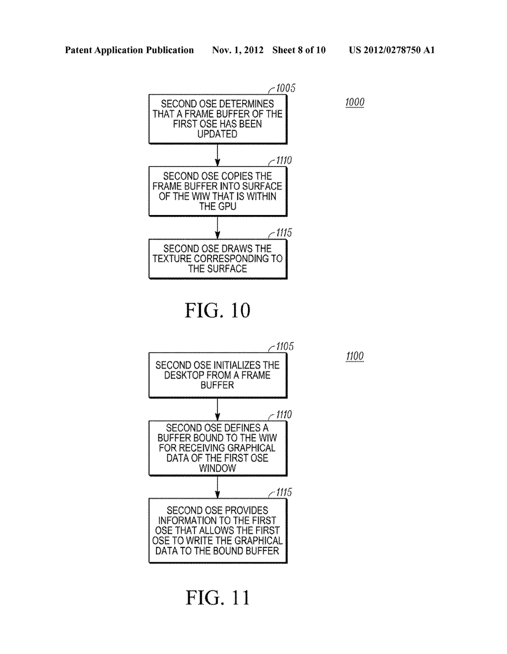 METHOD AND APPARATUS FOR PRESENTING A WINDOW IN A SYSTEM HAVING TWO     OPERATING SYSTEM ENVIRONMENTS - diagram, schematic, and image 09