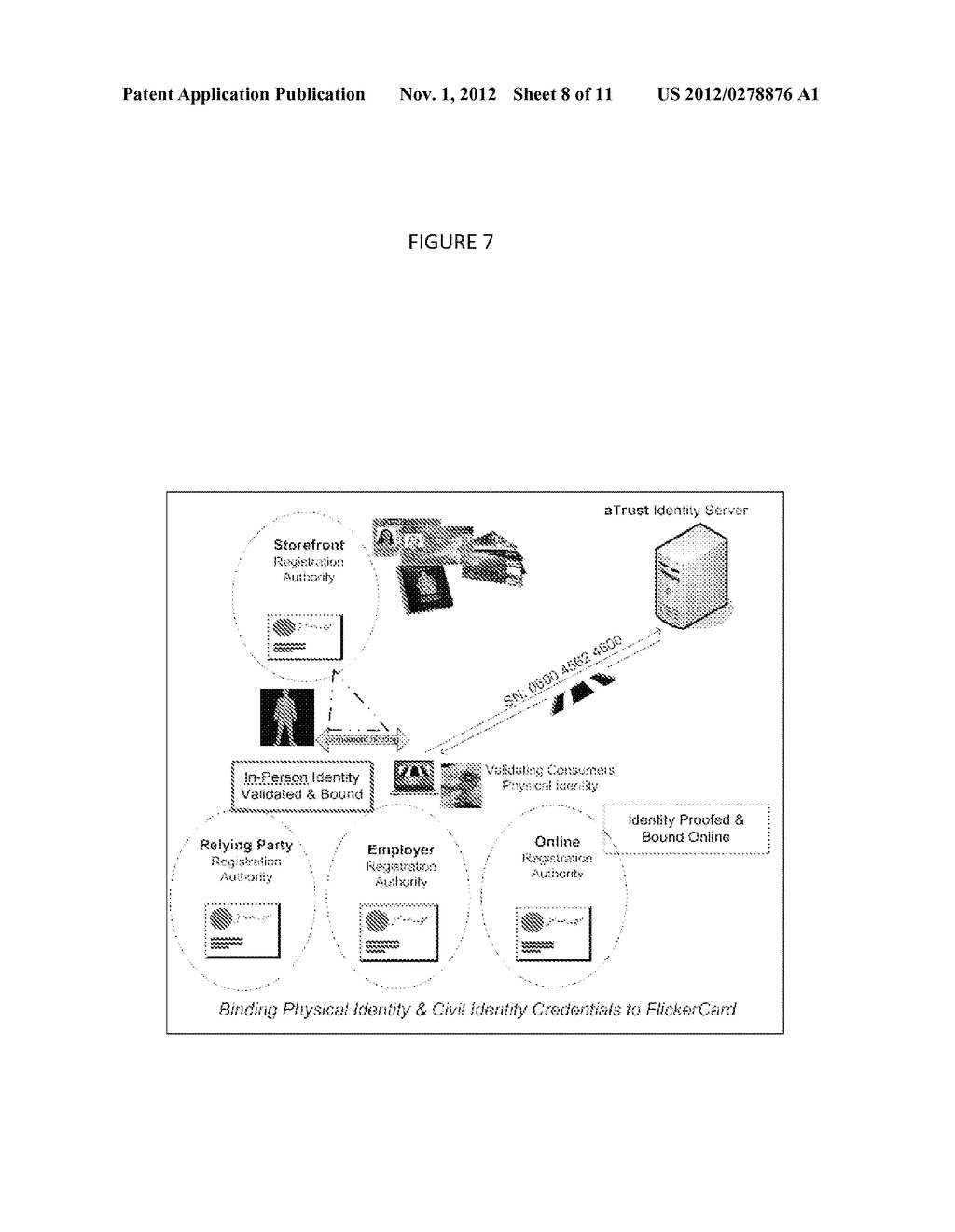 SYSTEM, METHOD AND BUSINESS MODEL FOR AN IDENTITY/CREDENTIAL SERVICE     PROVIDER - diagram, schematic, and image 09