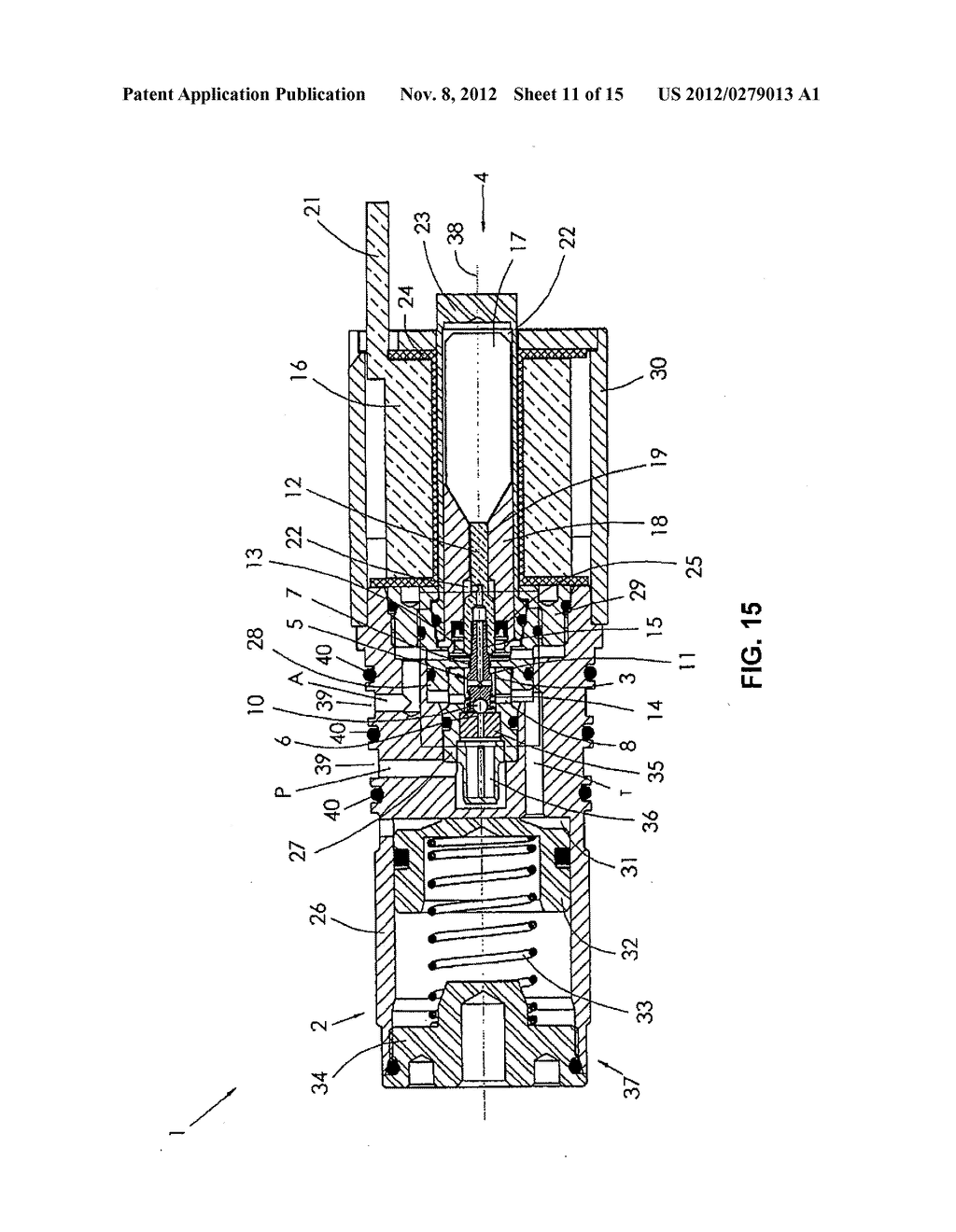 Hydraulic Directional Solenoid Valve And Door Closer Having A Diagram Schematic Image 12