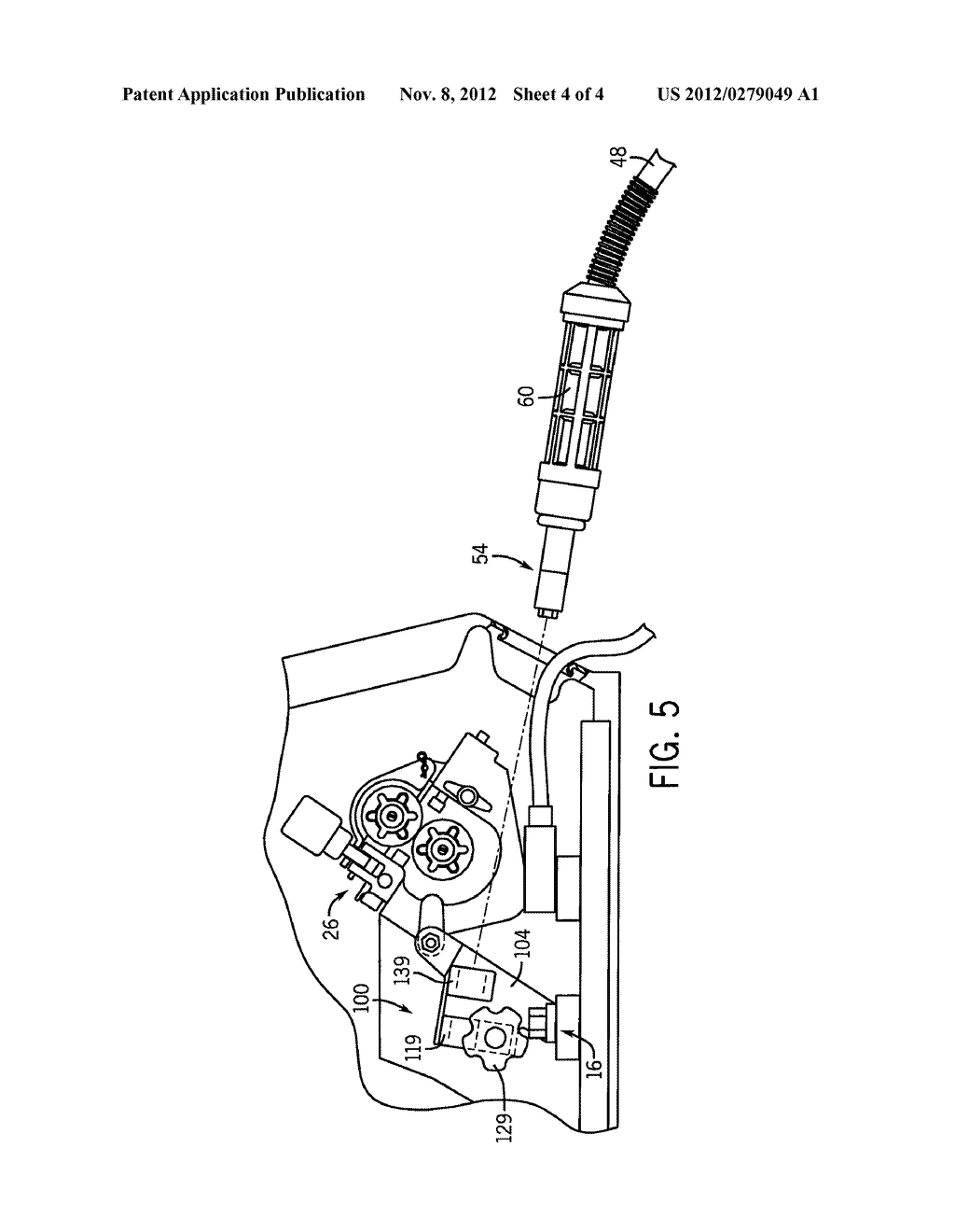 Dual Power Pin Connector Assembly For A Mig Welding Machine Diagram Of Schematic And Image 05