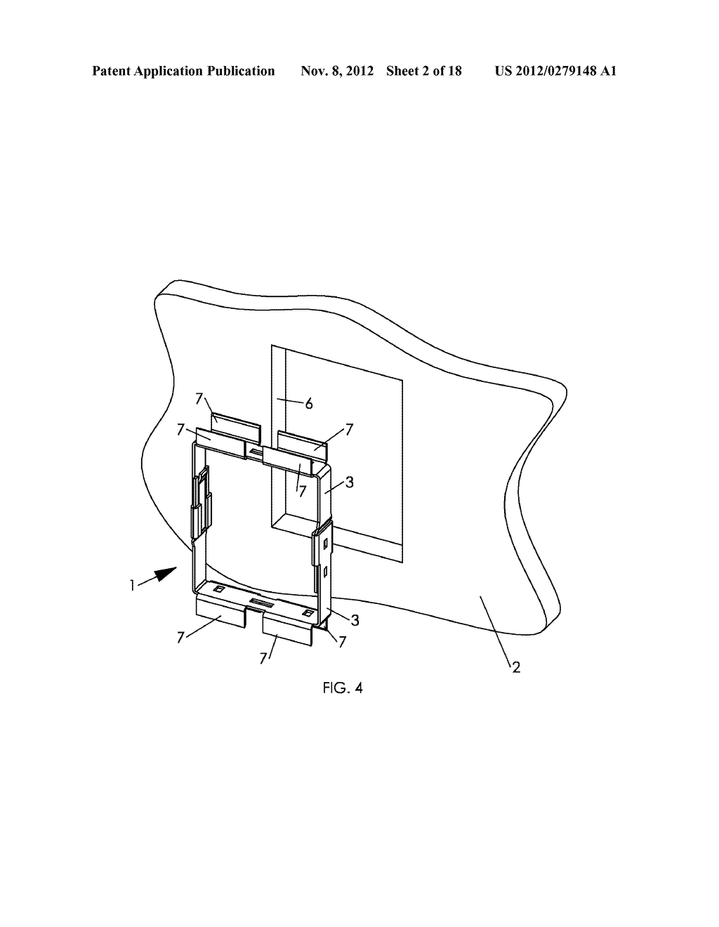 WALL MOUNTING APPARATUS AND METHOD - diagram, schematic, and image 03