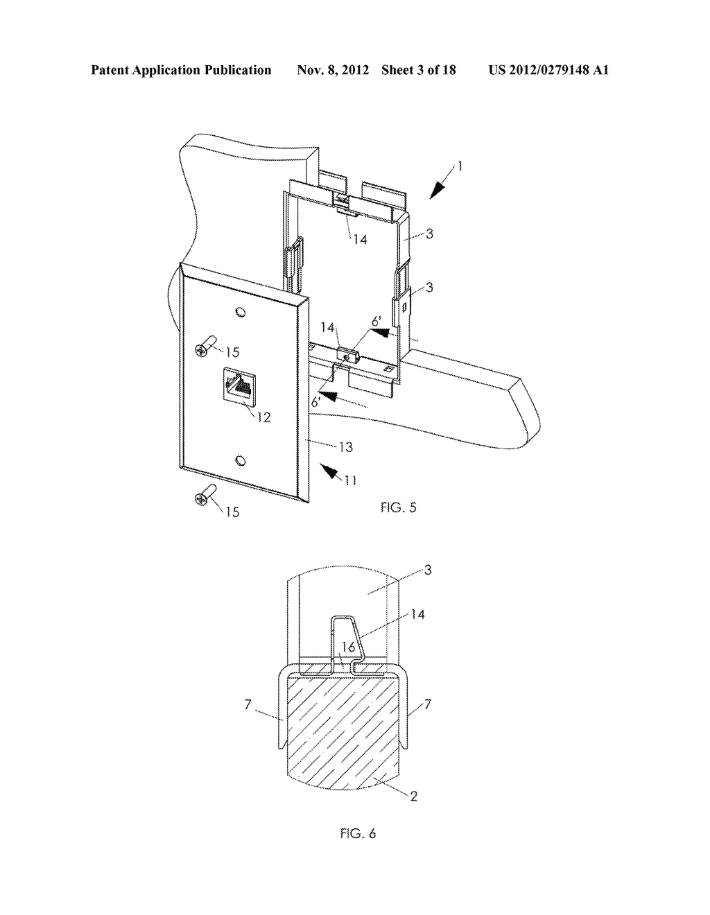 WALL MOUNTING APPARATUS AND METHOD - diagram, schematic, and image 04