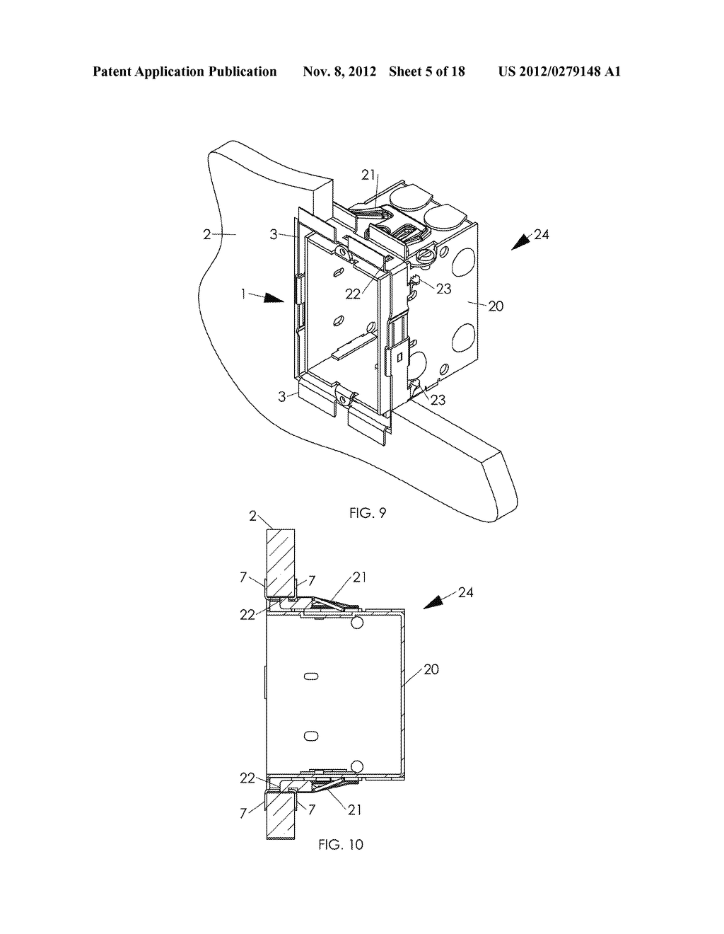 WALL MOUNTING APPARATUS AND METHOD - diagram, schematic, and image 06