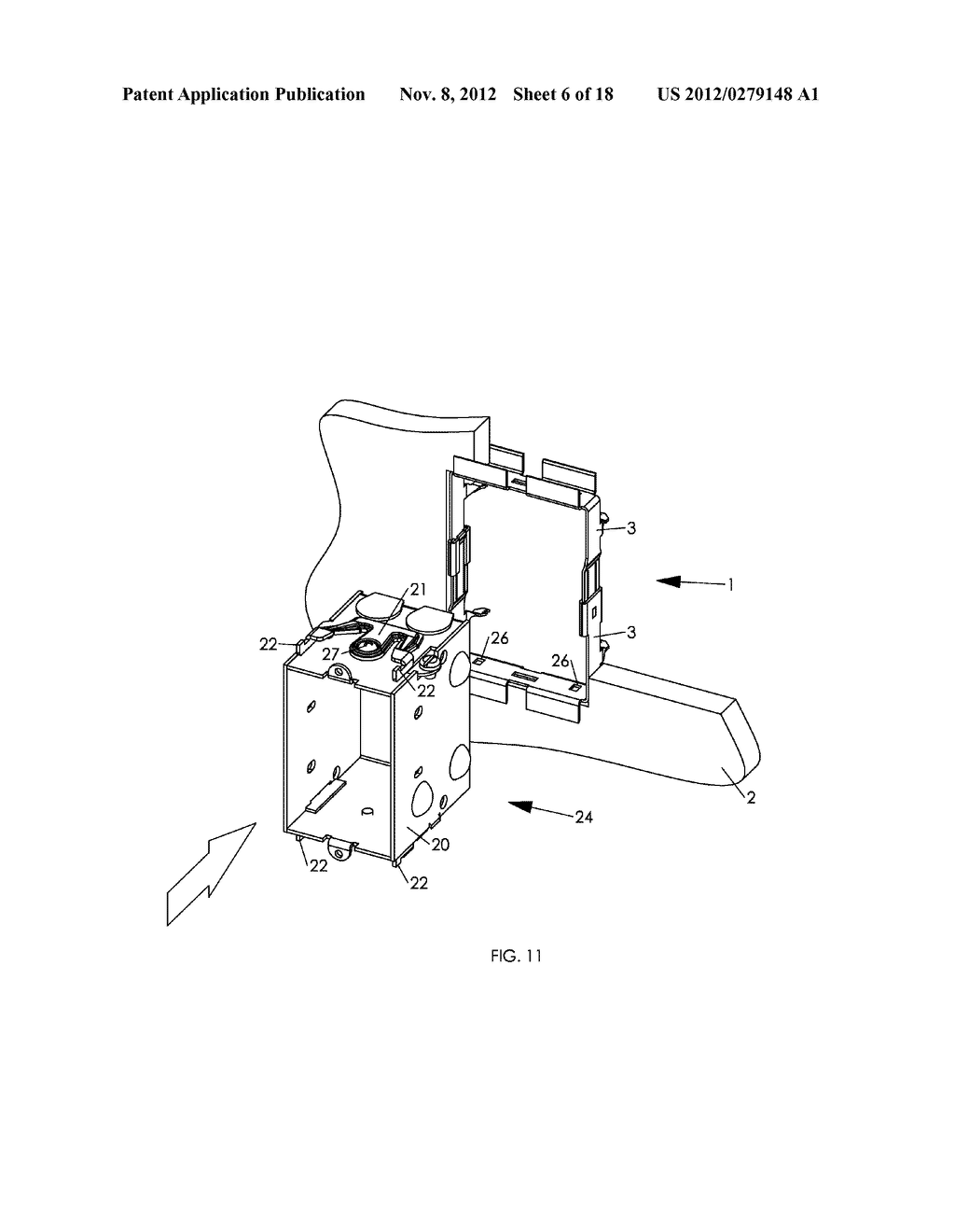 WALL MOUNTING APPARATUS AND METHOD - diagram, schematic, and image 07