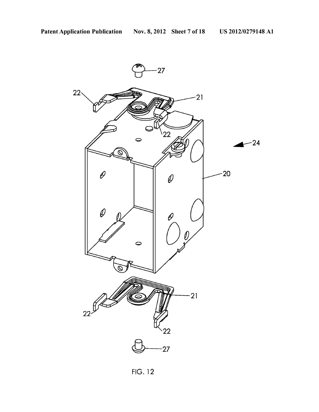 WALL MOUNTING APPARATUS AND METHOD - diagram, schematic, and image 08