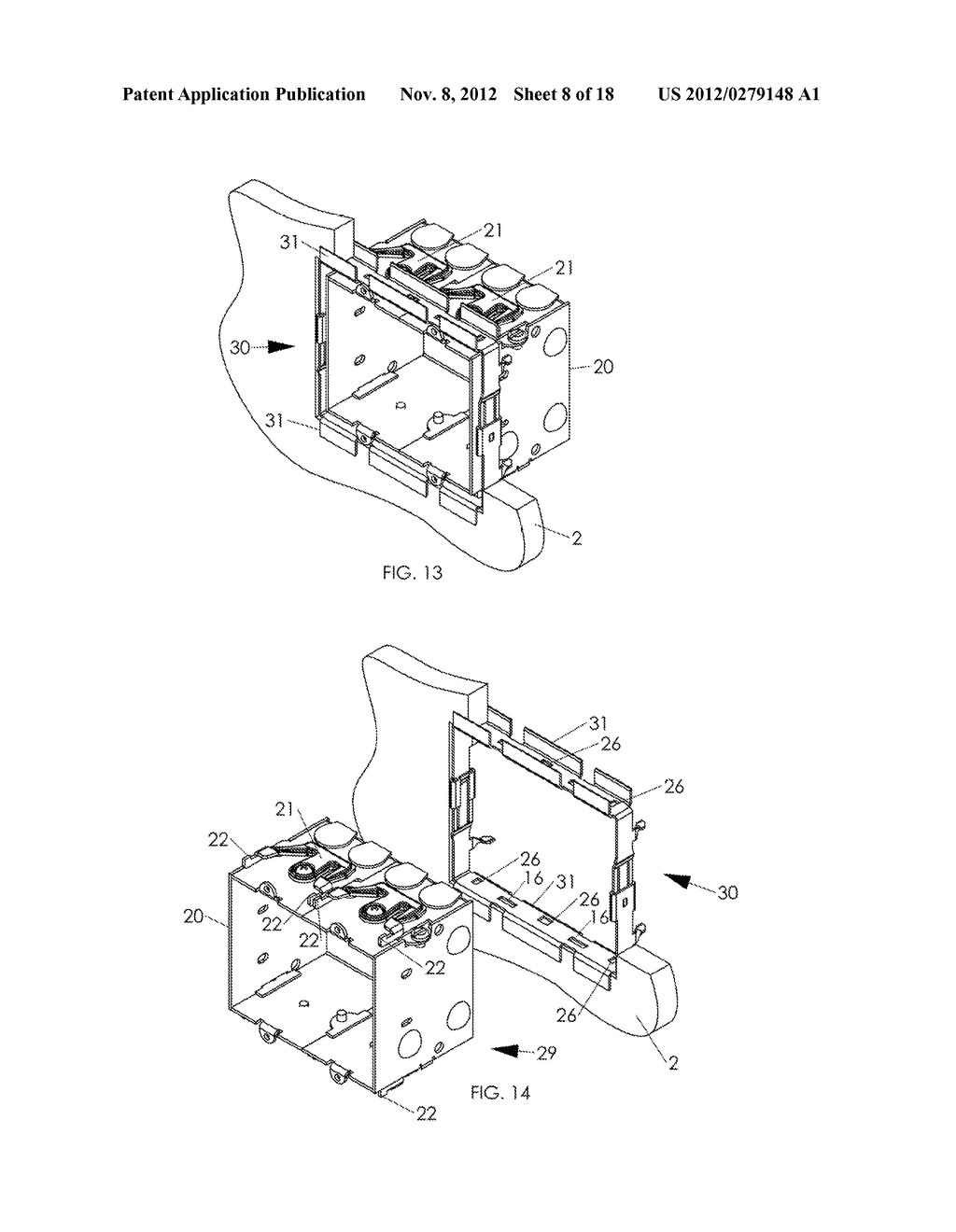 WALL MOUNTING APPARATUS AND METHOD - diagram, schematic, and image 09