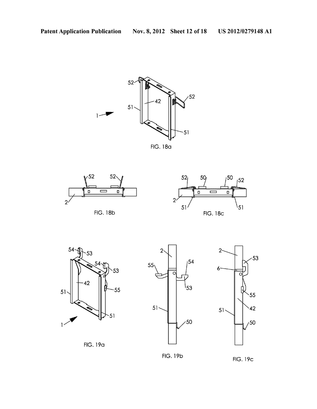 WALL MOUNTING APPARATUS AND METHOD - diagram, schematic, and image 13