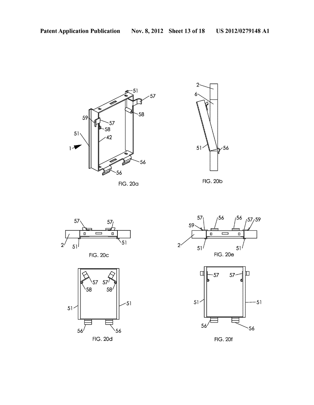 WALL MOUNTING APPARATUS AND METHOD - diagram, schematic, and image 14