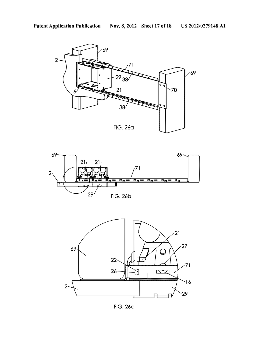 WALL MOUNTING APPARATUS AND METHOD - diagram, schematic, and image 18