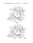 COMBINATION TABLE-MITER SAW SAFETY SYSTEM diagram and image
