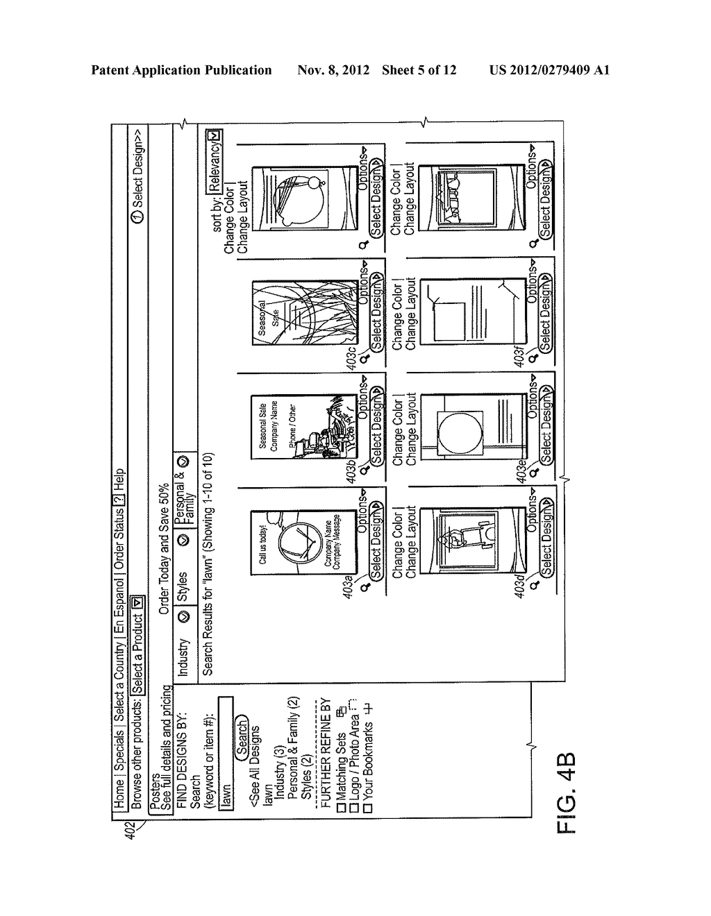 METHOD AND SYSTEM FOR APPLYING CUSTOMER-SPECIFIC LABELS TO UNPRINTED SIDE     OF PRINTED PRODUCTS - diagram, schematic, and image 06