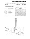 PENDULAR SYSTEM FOR TRANSPORTING A CIVIL ENGINEERING STRUCTURE IN AN     AQUATIC MEDIUM diagram and image