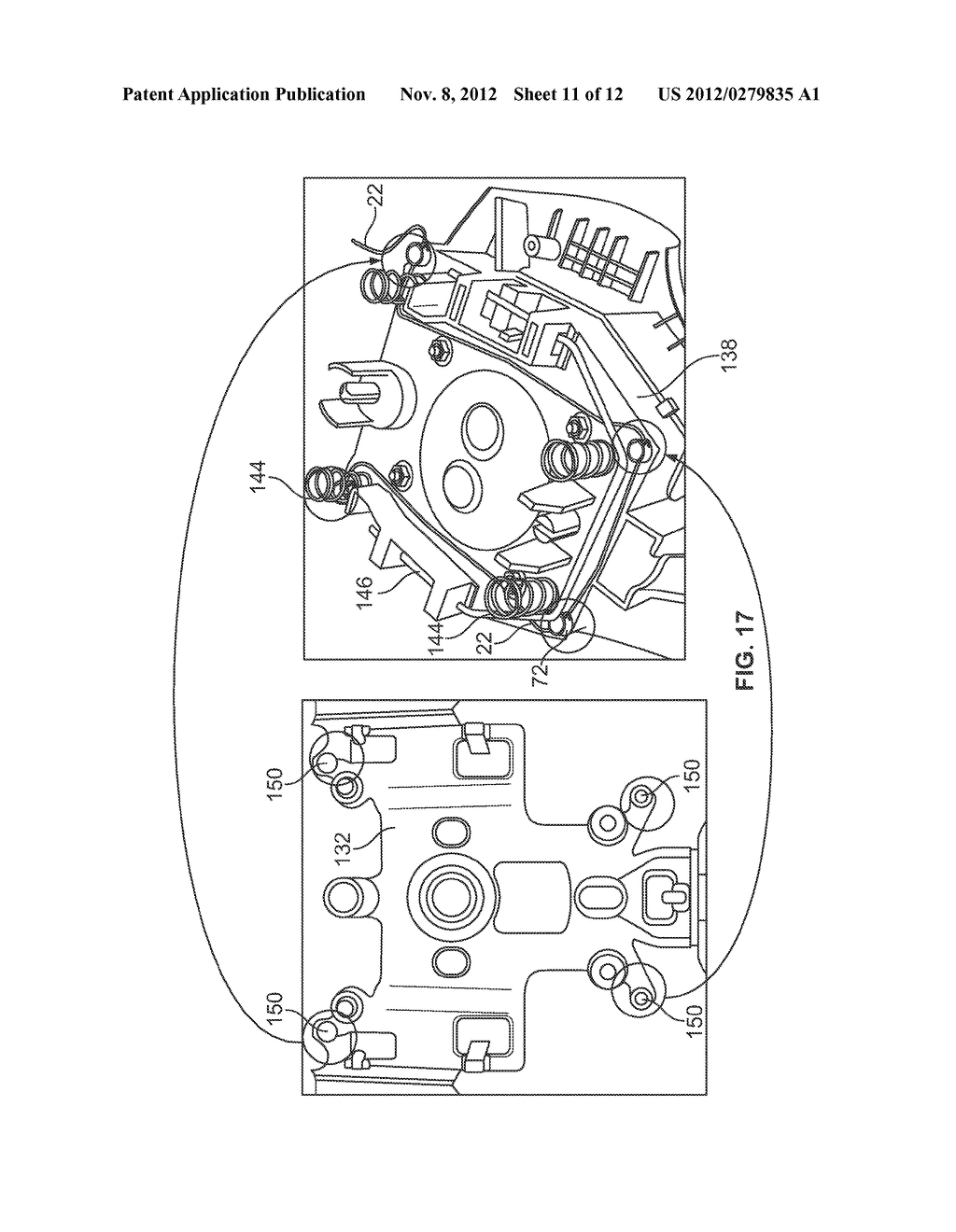 ELECTRICAL SWITCH FOR A VEHICLE STEERING WHEEL ASSEMBLY - diagram, schematic, and image 12