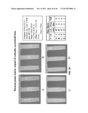 PROCESS FOR ELECTROPLATING METALS INTO MICROSCOPIC RECESSED FEATURES diagram and image