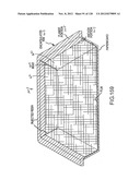 CONTAINER HAVING A RIM OR OTHER FEATURE ENCAPSULATED BY OR FORMED FROM     INJECTION-MOLDED MATERIAL diagram and image