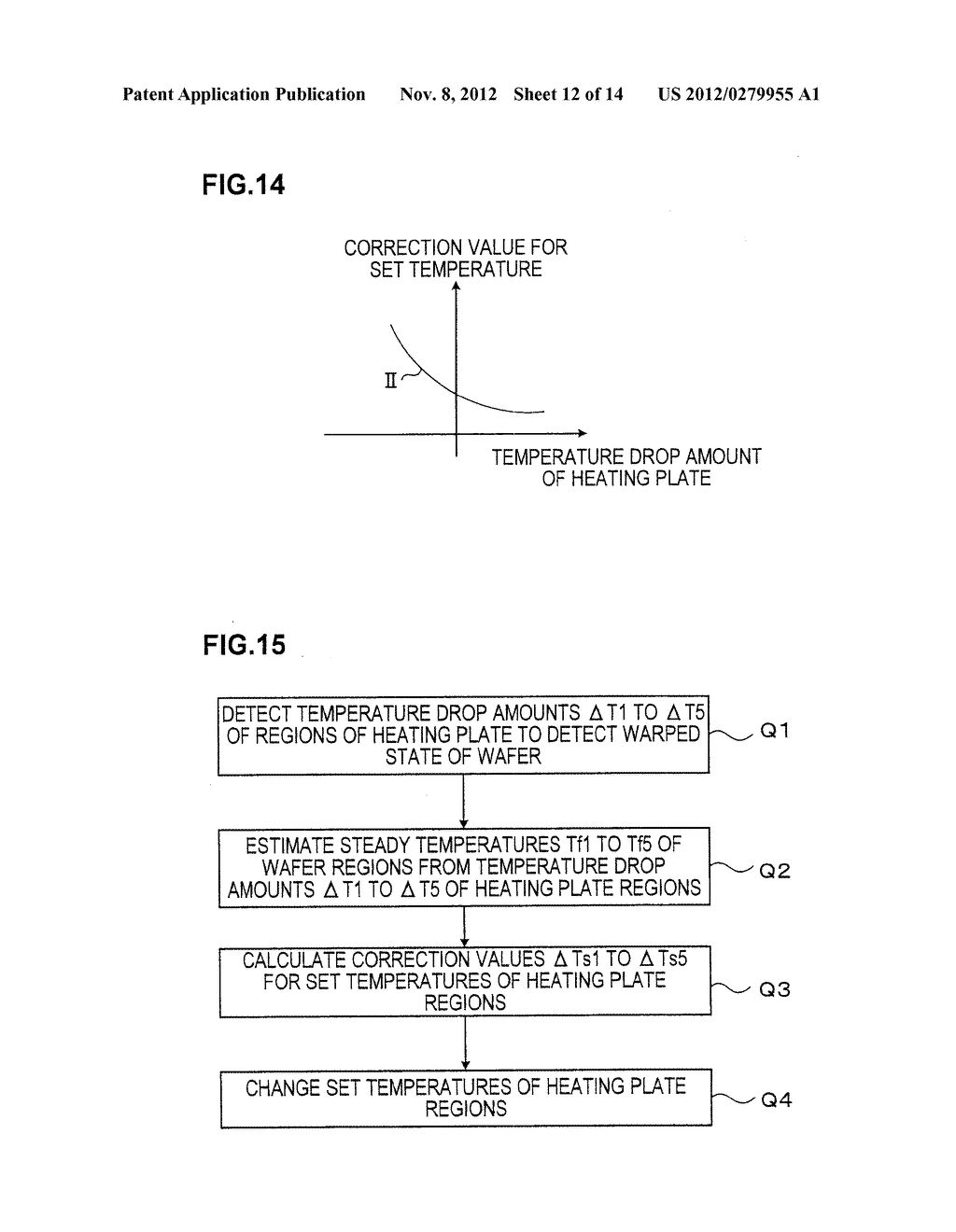 TEMPERATURE CONTROL METHOD OF HEAT PROCESSING PLATE, COMPUTER STORAGE     MEDIUM, AND TEMPERATURE CONTROL APPARATUS OF HEAT PROCESSING PLATE - diagram, schematic, and image 13