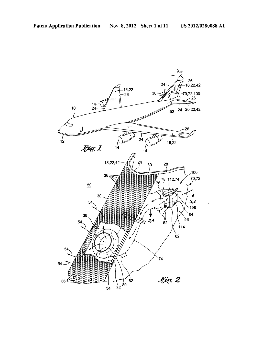 METHOD OF LAMINAR FLOW CONTROL USING A DOOR ASSEMBLY - diagram, schematic, and image 02