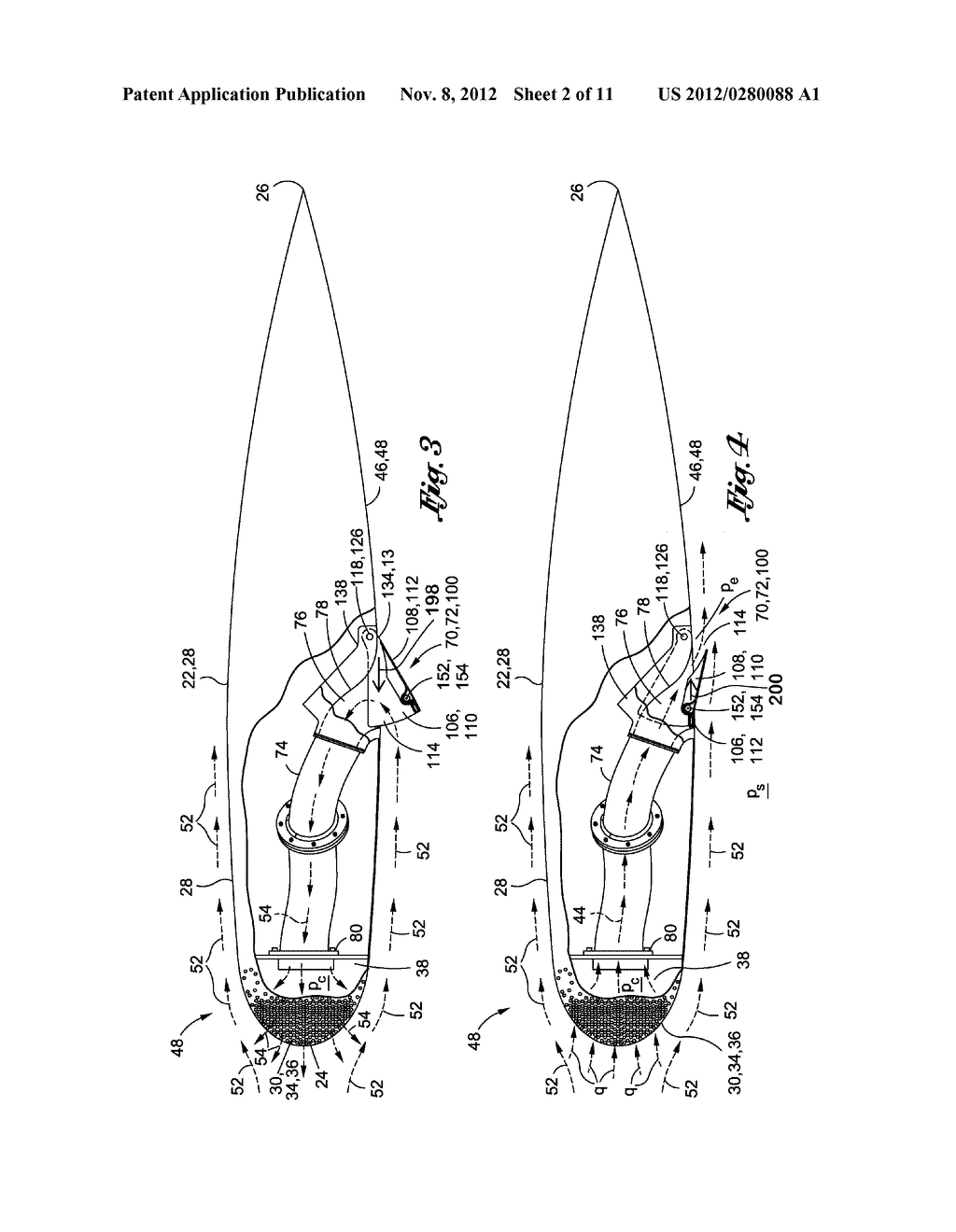 METHOD OF LAMINAR FLOW CONTROL USING A DOOR ASSEMBLY - diagram, schematic, and image 03