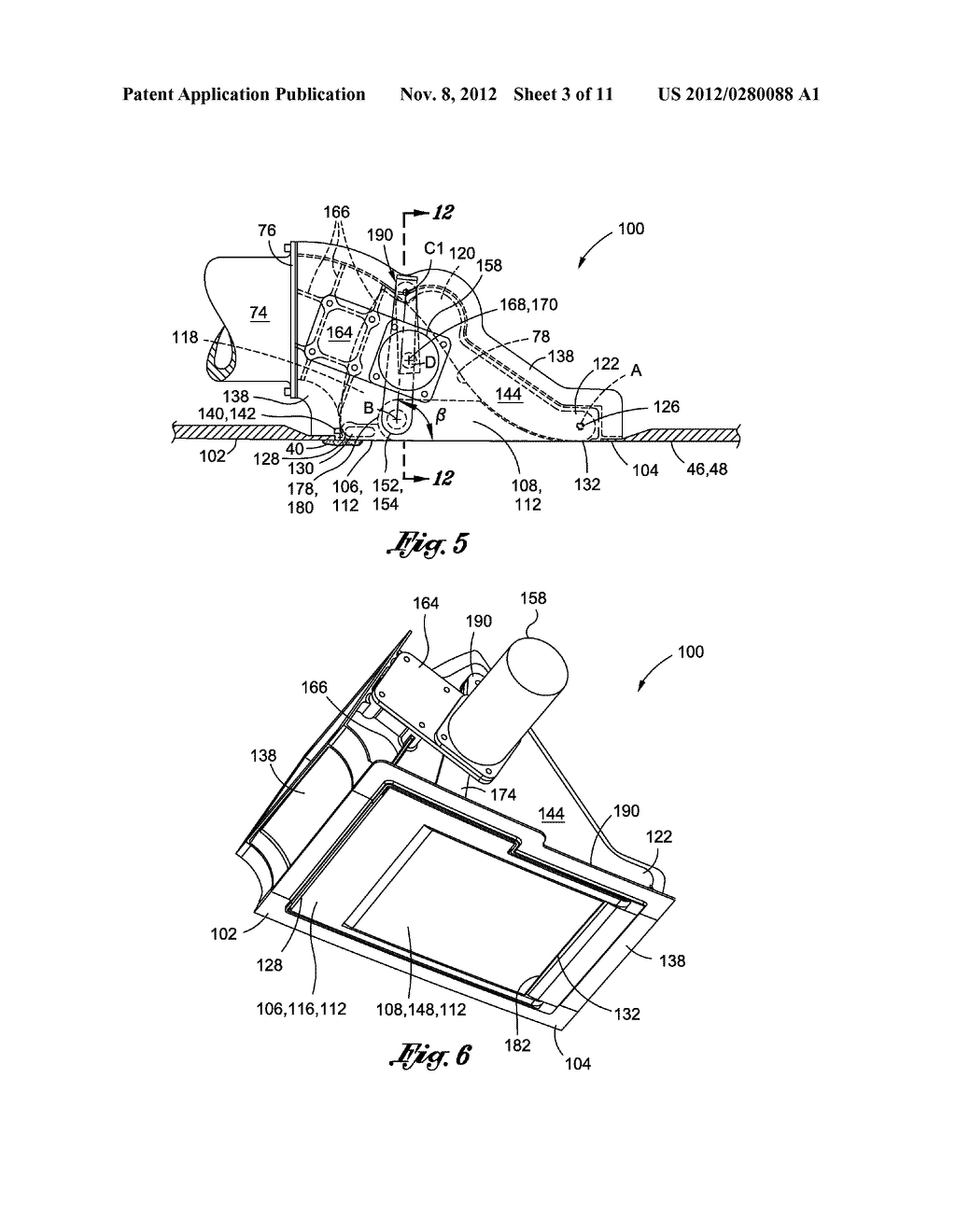 METHOD OF LAMINAR FLOW CONTROL USING A DOOR ASSEMBLY - diagram, schematic, and image 04