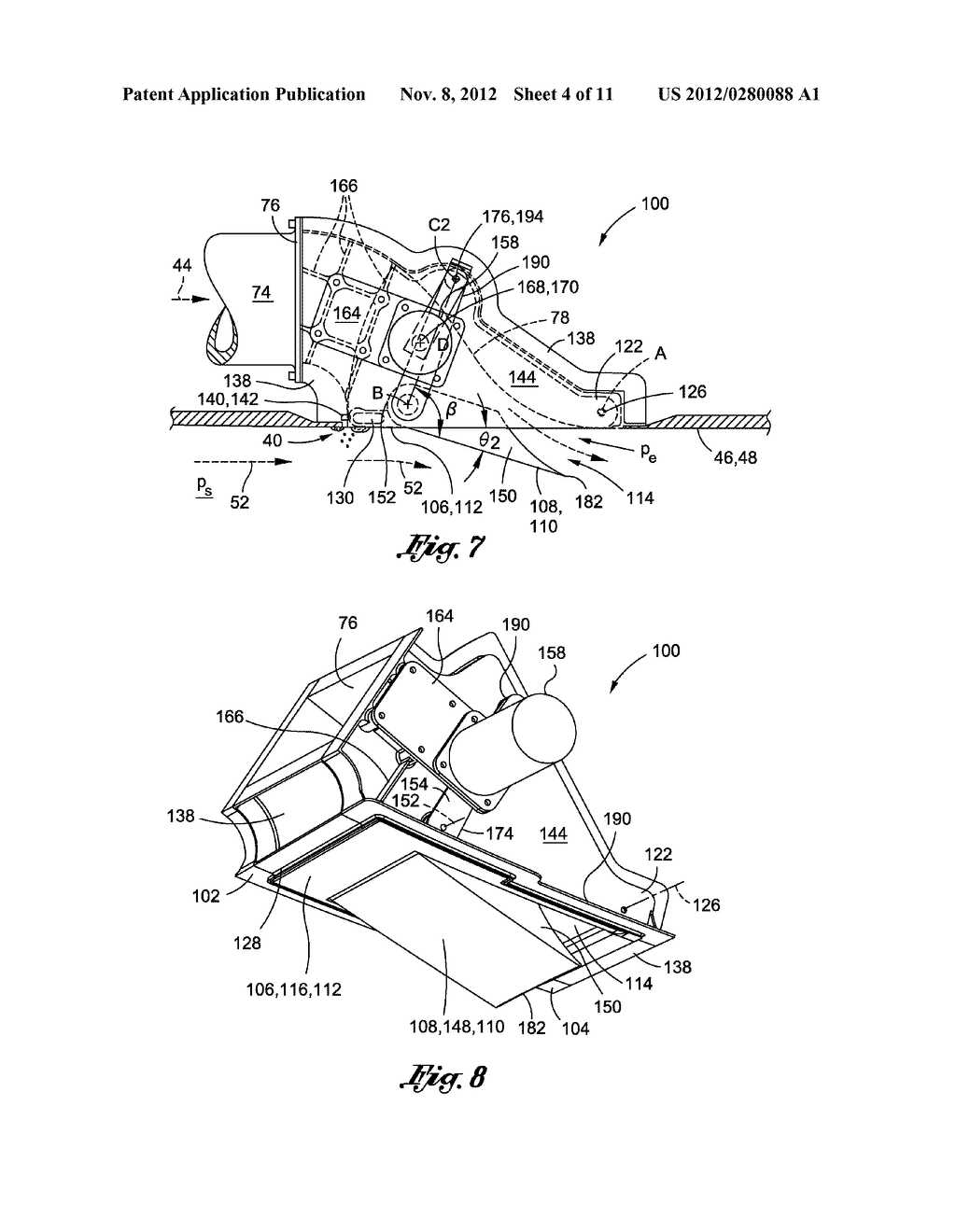 METHOD OF LAMINAR FLOW CONTROL USING A DOOR ASSEMBLY - diagram, schematic, and image 05