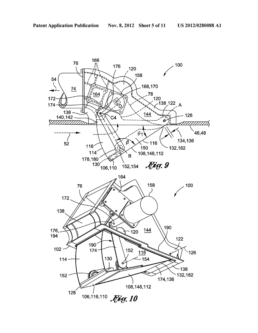 METHOD OF LAMINAR FLOW CONTROL USING A DOOR ASSEMBLY - diagram, schematic, and image 06