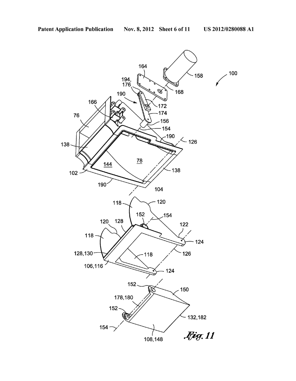 METHOD OF LAMINAR FLOW CONTROL USING A DOOR ASSEMBLY - diagram, schematic, and image 07