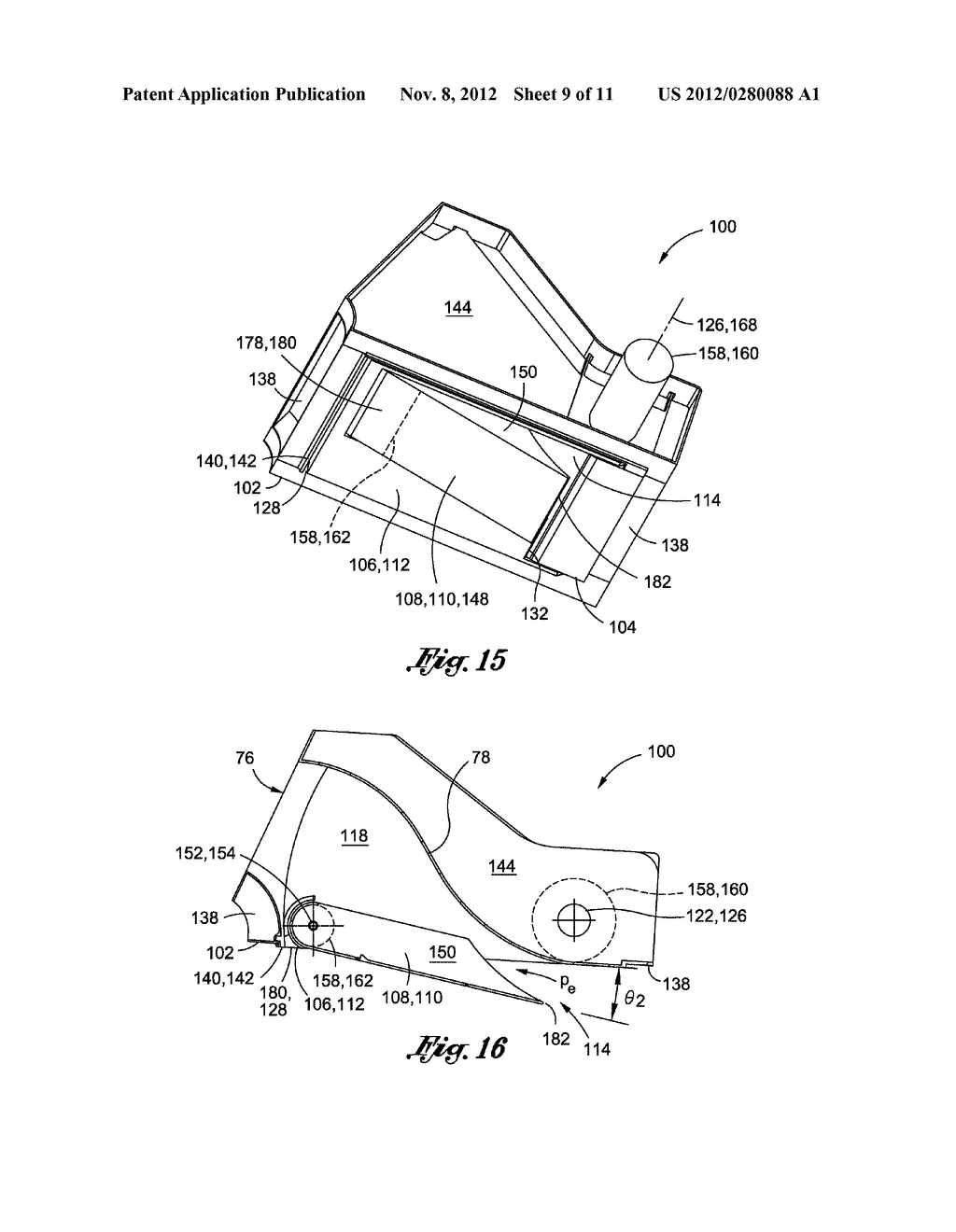 METHOD OF LAMINAR FLOW CONTROL USING A DOOR ASSEMBLY - diagram, schematic, and image 10