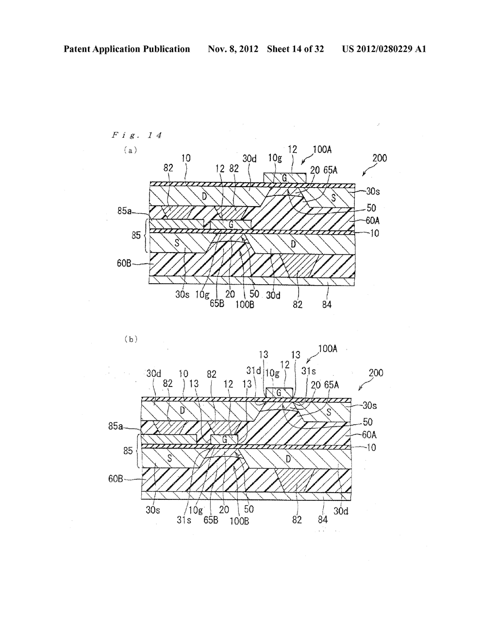 FLEXIBLE SEMICONDUCTOR DEVICE, METHOD FOR MANUFACTURING THE SAME AND IMAGE     DISPLAY DEVICE - diagram, schematic, and image 15