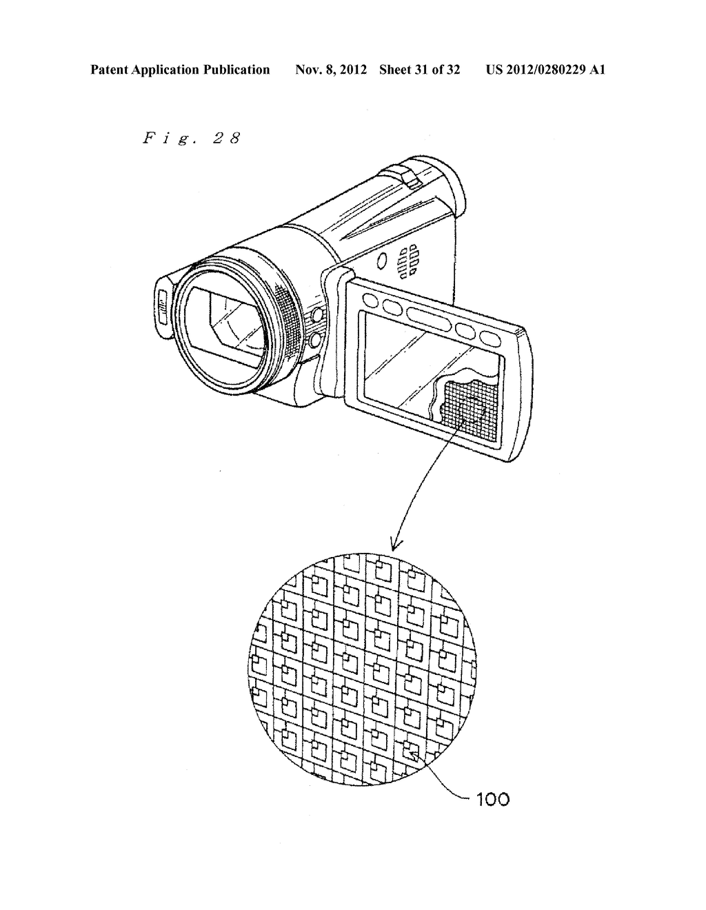 FLEXIBLE SEMICONDUCTOR DEVICE, METHOD FOR MANUFACTURING THE SAME AND IMAGE     DISPLAY DEVICE - diagram, schematic, and image 32