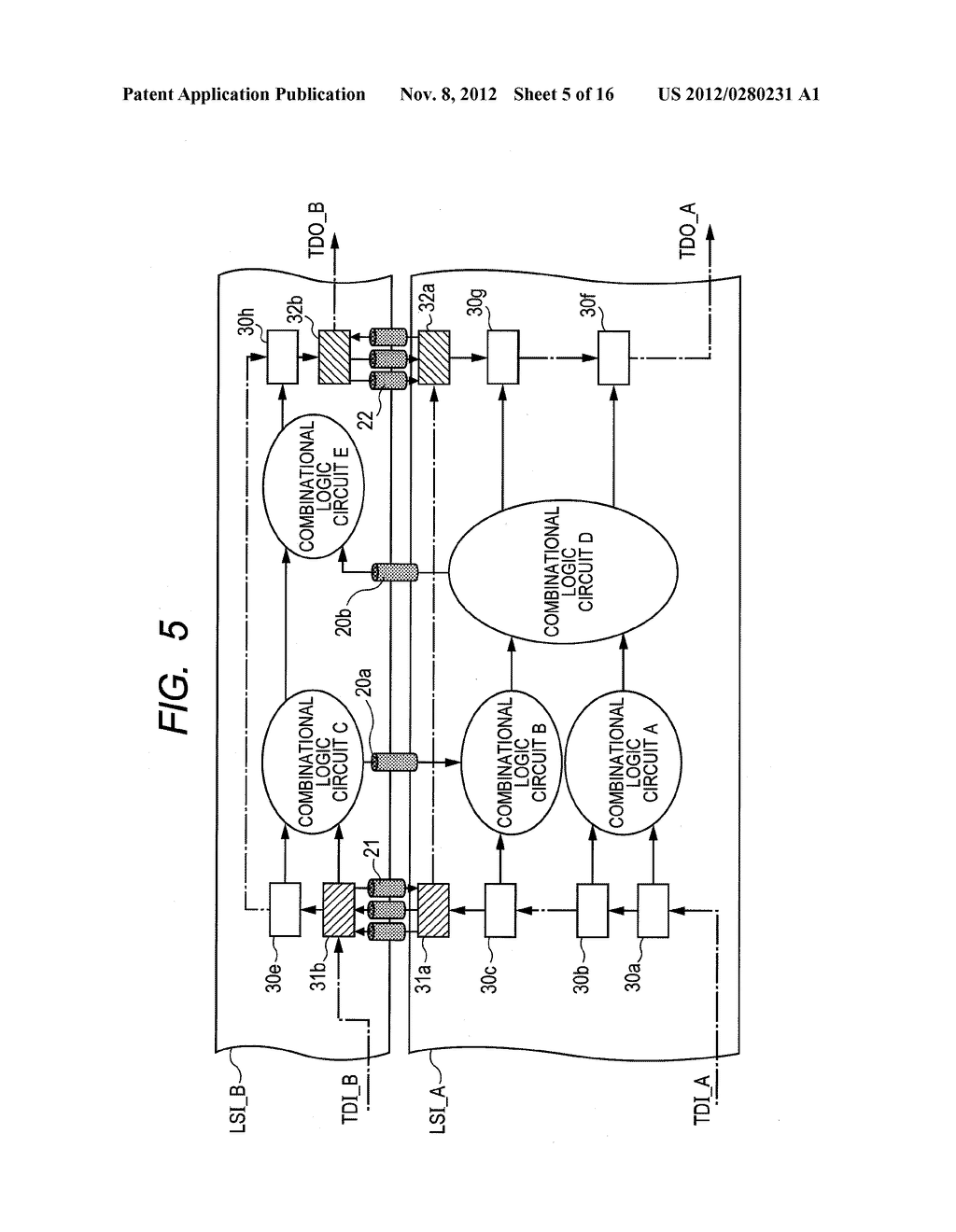 SEMICONDUCTOR DEVICE, AND TEST METHOD FOR SAME - diagram, schematic, and image 06
