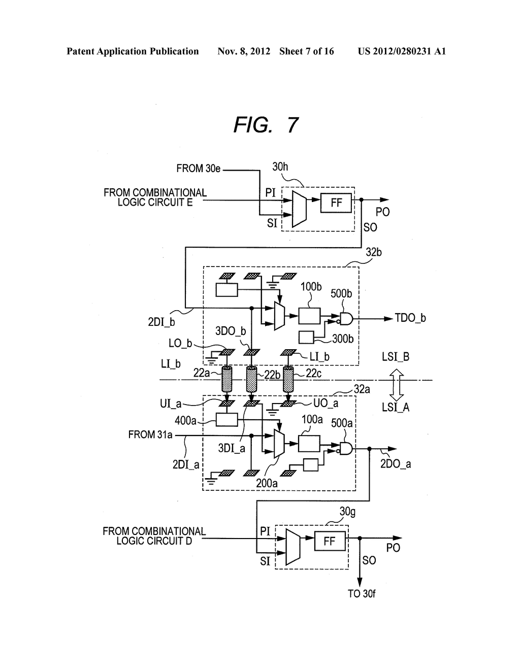 SEMICONDUCTOR DEVICE, AND TEST METHOD FOR SAME - diagram, schematic, and image 08