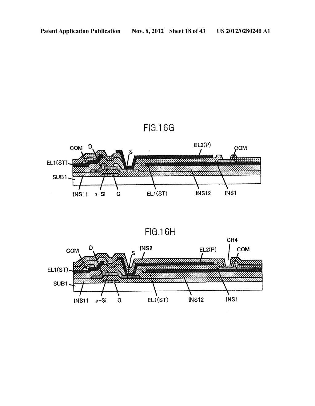 LIQUID CRYSTAL DISPLAY DEVICE HAVING FIRST, SECOND, AND THIRD TRANSPARENT     ELECTRODES WHEREIN A SECOND REGION OF THE SECOND ELECTRODE PROTRUDES FROM     A FIRST REGION - diagram, schematic, and image 19