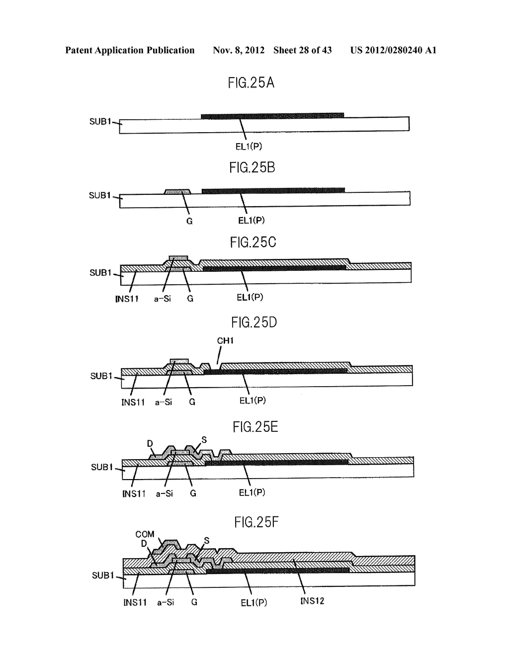 LIQUID CRYSTAL DISPLAY DEVICE HAVING FIRST, SECOND, AND THIRD TRANSPARENT     ELECTRODES WHEREIN A SECOND REGION OF THE SECOND ELECTRODE PROTRUDES FROM     A FIRST REGION - diagram, schematic, and image 29