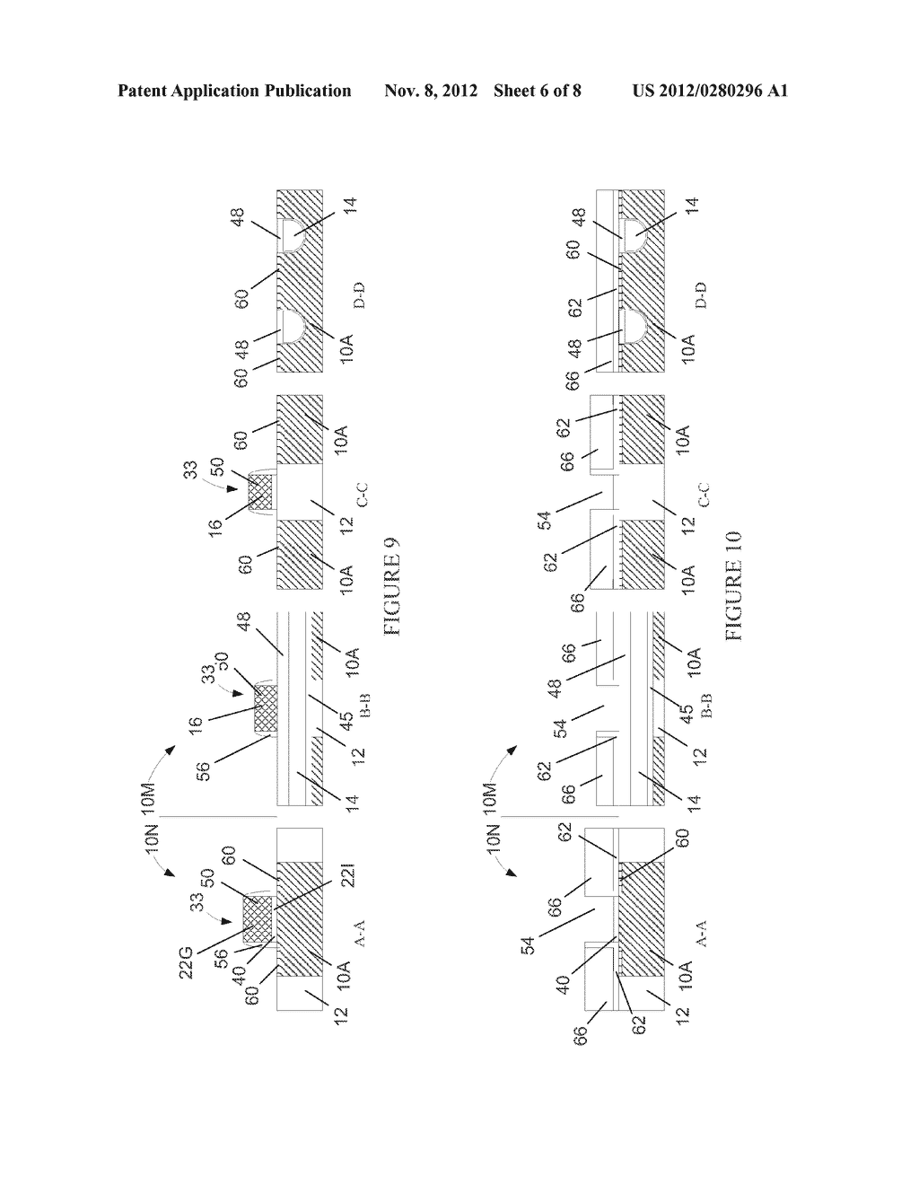 Semiconductor Device with DRAM Bit Lines Made From Same Material as Gate     Electrodes in Non-Memory Regions of the Device, and Methods of Making     Same - diagram, schematic, and image 07